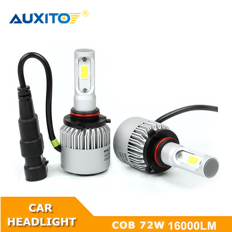 AUXITO For Toyota Corolla Yaris RAV4 Camry Celica Prius Highlander 9005 9006 9003 H4 H7 H11 H8 H9 Car LED Headlight Bulb 16000LM
