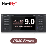 Navifly Android 9,0 автомобильный мультимедийный dvd плеер радио аудио для BMW E53 X5 E39 5/M5 97 06 E53 gps навигации с ips DSP