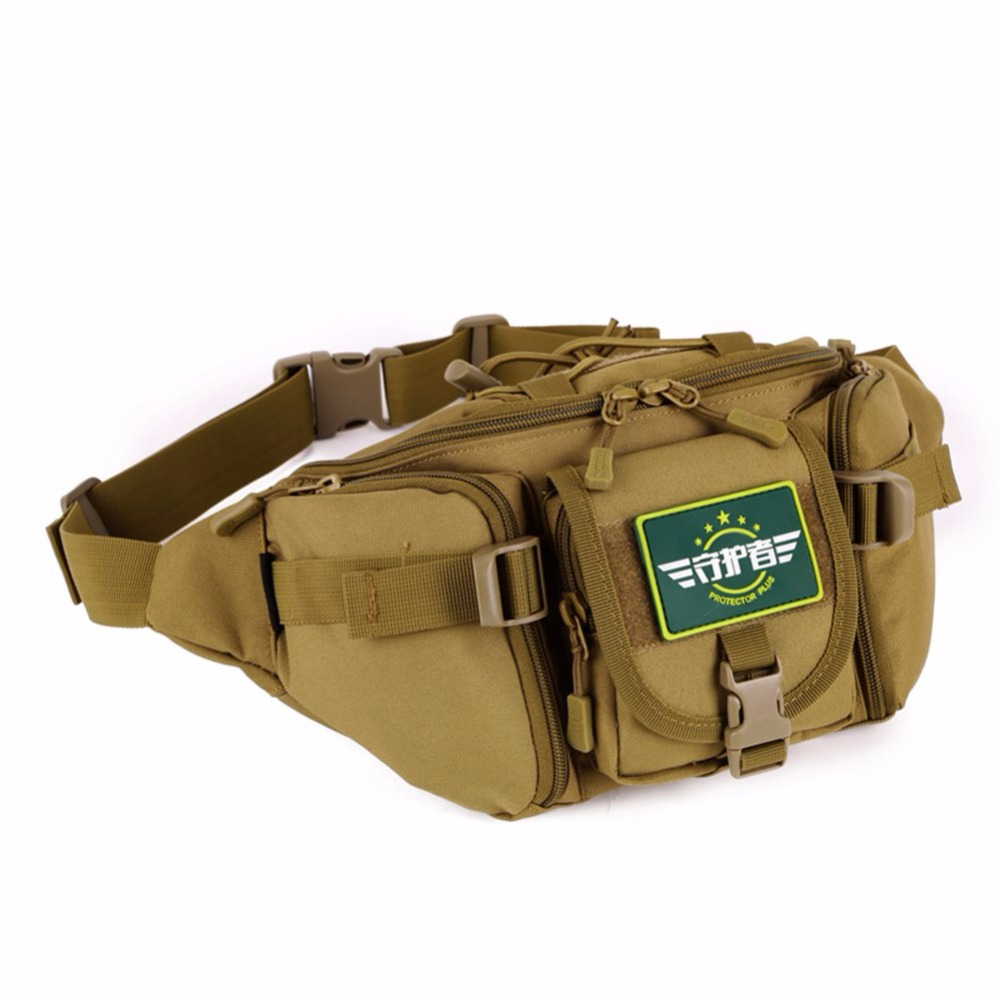 Portable Military Molle Hip Waist Belt Bag Waterproof Nylon Wallet Pouch Mobile Phone Wallet Travel Waist Pack High Quality