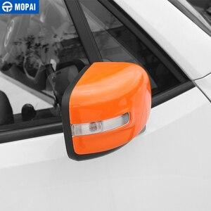Image 3 - MOPAI רכב Rearview מראה קישוט כיסוי מדבקות לjeep Renegade 2015 עד מראה אחורית חיצונית אביזרי רכב סטיילינג