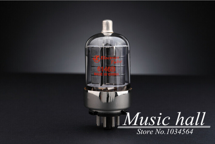 Douk Audio Shuguang 6146B Audio Vacuum Tube valve 1PCS 12 months warranty factory price for tube amplifier Free Shipping music hall shuguang natural sound 12ax7 t audio vacuum tube valve with gold pins 1pcs for tube amplifier