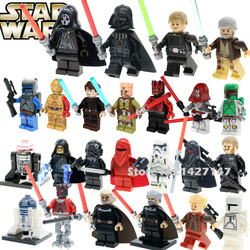 Single sale star wars darth vader jedi knight c 3po r2d2 luke skywalker with lightsaber minifigures.jpg 250x250