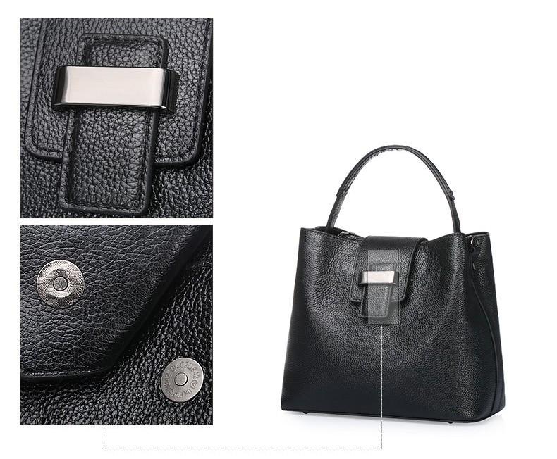 women genuine leather handbag 23-1