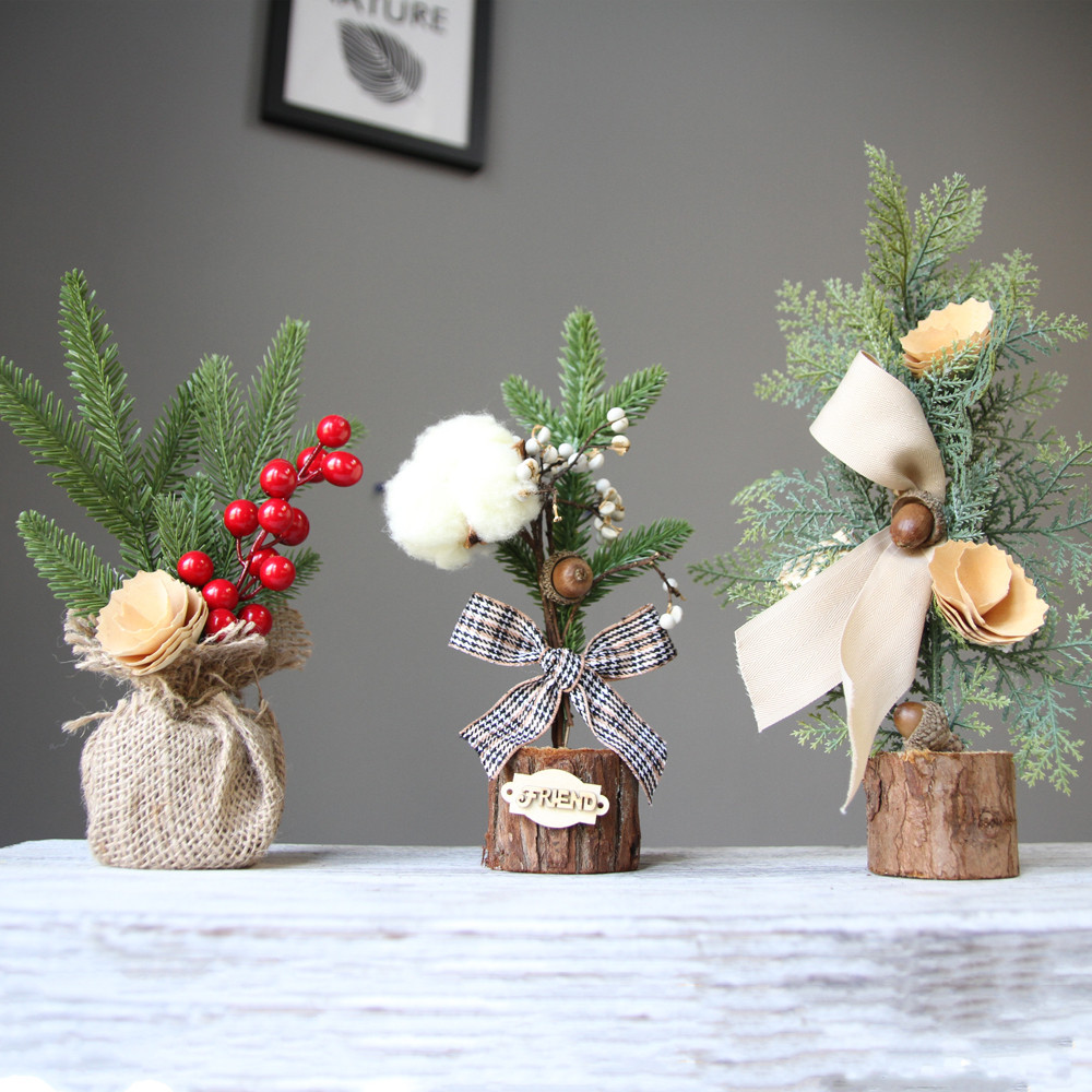 Christmas Tree Decorations Aliexpress: 2019 Year Merry Christmas Decorations For Home Desk