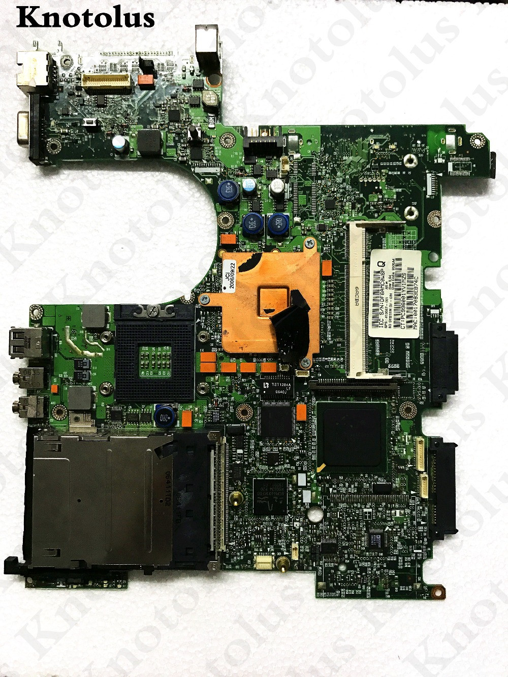 все цены на 413667-001 for hp nx6310 laptop motherboard ddr2 6050a2035001-mb-a05 Free Shipping 100% test ok онлайн