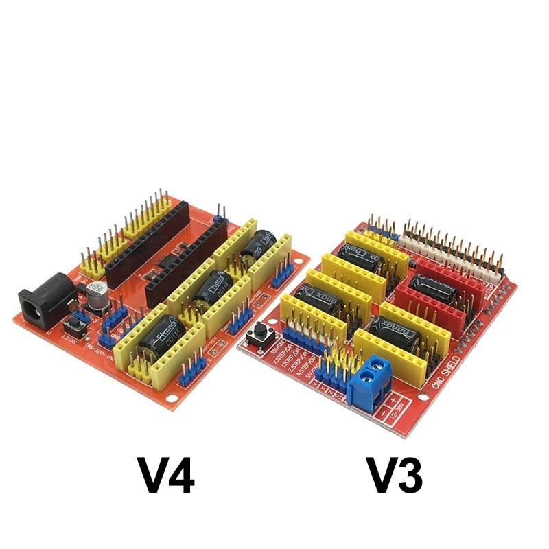 CNC Shield V3 A4988 Stepper Motor Driver Expansion Board for RepRap 3D Printer