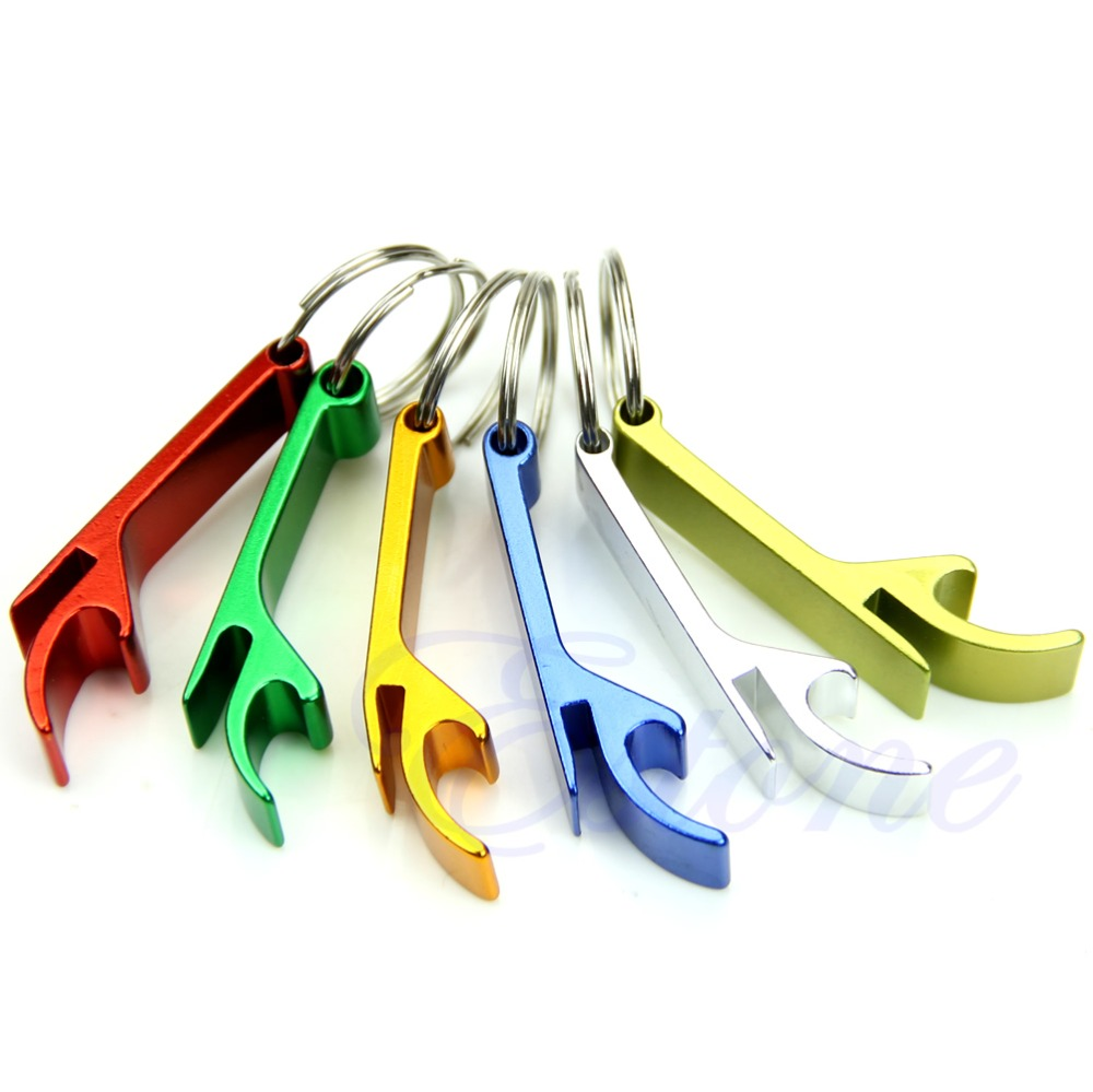 Key Chain Beer Bottle Opener Small Beverage Key Ring Claw Bar Pocket Tool in Openers from Home Garden