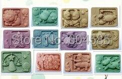 Le zodiaque a (savons moule silicone moules savon savon moule)
