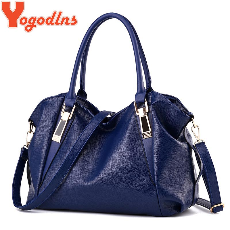Yogodlns Designer Women Handbag Female PU Leather Bags Handbags Ladies Portable