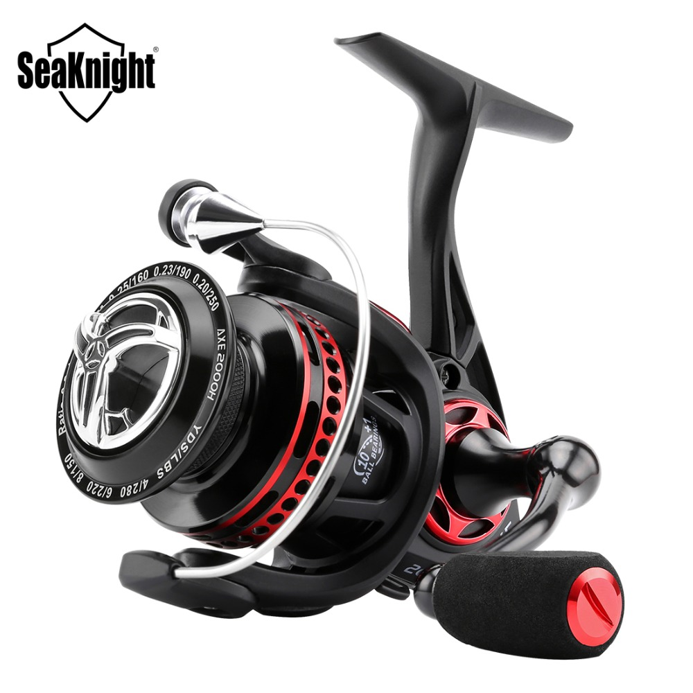 SeaKnight AXE  2000H 3000H 4000H  Fishing Reel 6.2:1 Design Anti-Corrosion Real Full Metal Body WaterProof 10+1BB Spinning Reel