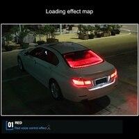 12V Car LED Strip Rear Brake Light Tail Warning Dynamic Streamer Lamp Stop Light