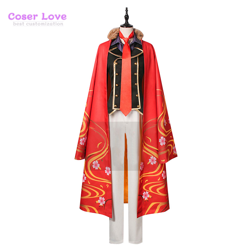Bungo Stray Dogs Dazai Osamu Cosplay Carnaval Costume Halloween Christmas Costume
