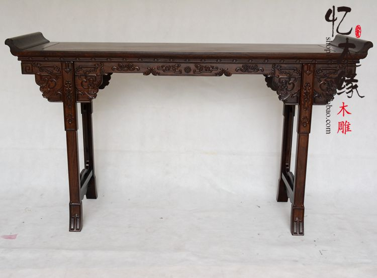 Rosewood ebony wood case a nave altar altar for Taiwan Alice first few lines inside the table a chinese style mahogany altar altar fokan african rosewood altar entrance hall table table