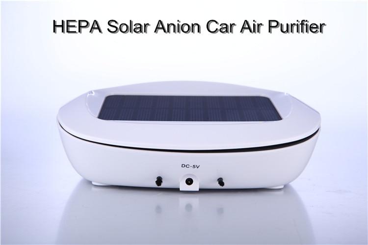 China supplier USB charging Fresh air cleaner car Air purifier for cars