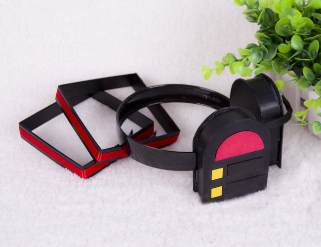 Cosplaydiy Hatsune Miku Cosplay Headphone For Halloween Cosplay Costume Prop Accessories D0918