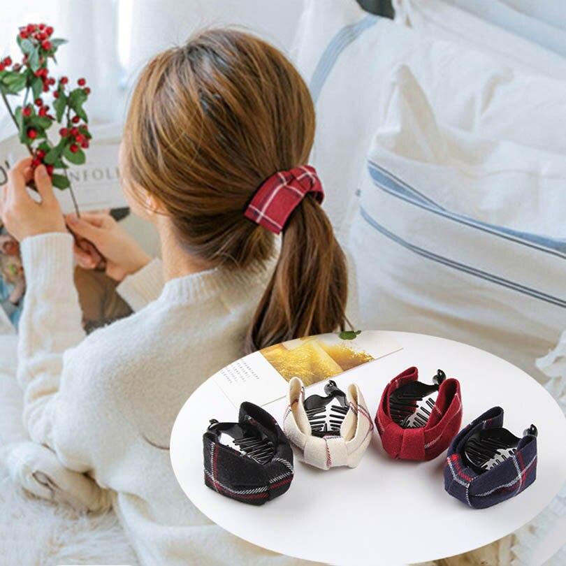 Haimeikang Fashion Korean Brand Hair Clip Rose Hair Claws Clips Hair Acces For Women Girls Hair Crab Clamp Hairpin   Headwear