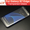 100pcs/lot Electroplating Full Coverage 3D Tempered Glass Screen Protector Guard Film for Samsung Galaxy S7 / S7 edge G935