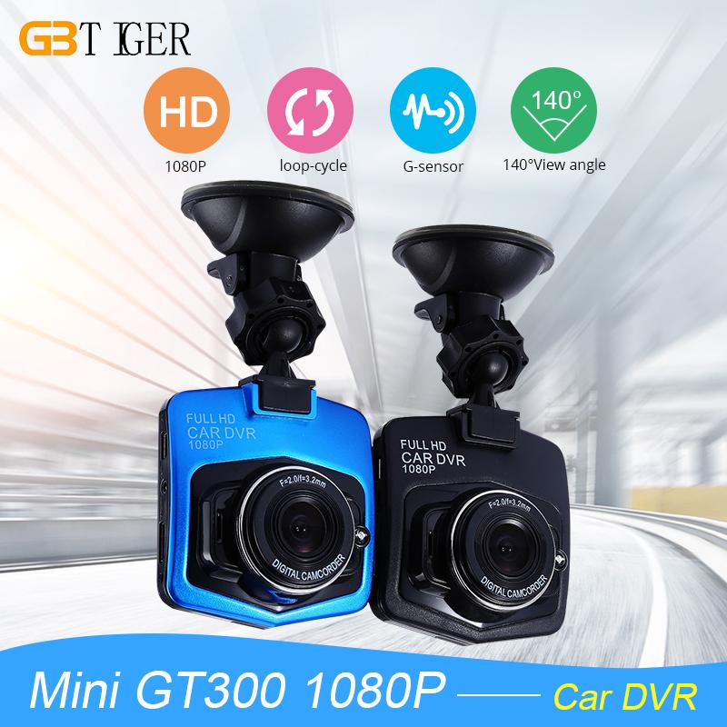 Prix pour Mini Voiture DVR Caméra GT300 Caméscope 1080 P Full HD Vidéo Registrator Parking Enregistreur g-sensor Dash Cam