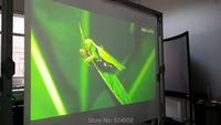 1.52 m x 2 m Cinza Escuro HD Filme de Projeção Traseira  Tela de Projeção Traseira Filme