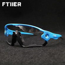 Newest Fashion Color Changing Eyewear Photochromic Cycling Bicycle Bike Glasses Outdoor Spo
