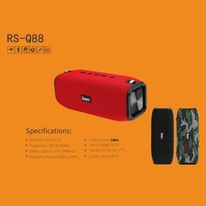 Image 3 - Bluetooth Lautsprecher Tragbare High Power Wasserdicht Spalte Musik Player unterstützt Subwoofer Sound bar BoomBox mit FM Radio TF karte