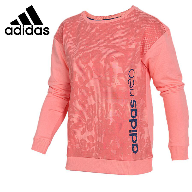 Original New Arrival 2018 Adidas NEO Label W Fav Sweat Women's Pullover Jerseys Sportswear original new arrival 2018 adidas neo label fav tshirt men s t shirts short sleeve sportswear