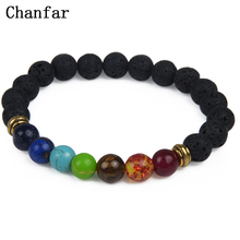 Natural Bracelet Jewelry Balance Lava-Stone Healing Chanfar for Yoga-Prayer Women Hot-7