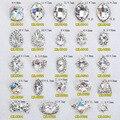 100 unids/lote 2016 del nuevo diseño de cristal K9 piedra con encanto 3D Nail Art Designs Nail Art Rhinestones de la aleación DIY decoración