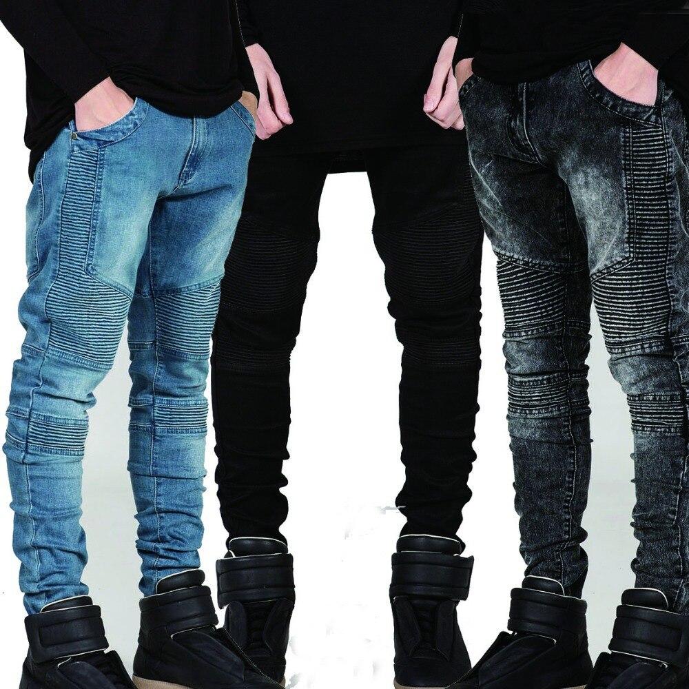 Hot Fashion High Quality Designer Man Mens Skinny Denim Biker Jeans Joggers Hip Hop Swag Clothes Clothing Streetwear козлова е жилищное право уч пос карман формат