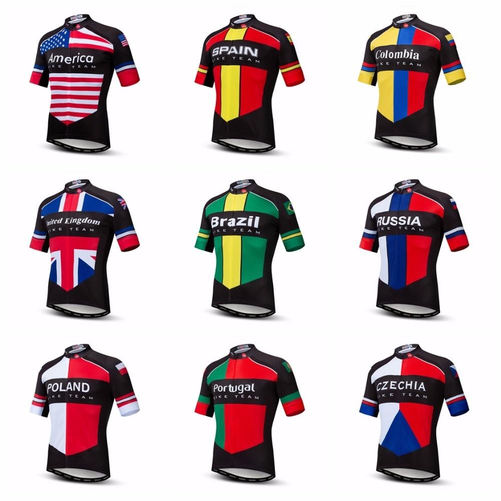 Completo Ciclismo Pro Team ESPAÑA 2019 set divisa spagna cycling jersey mtb