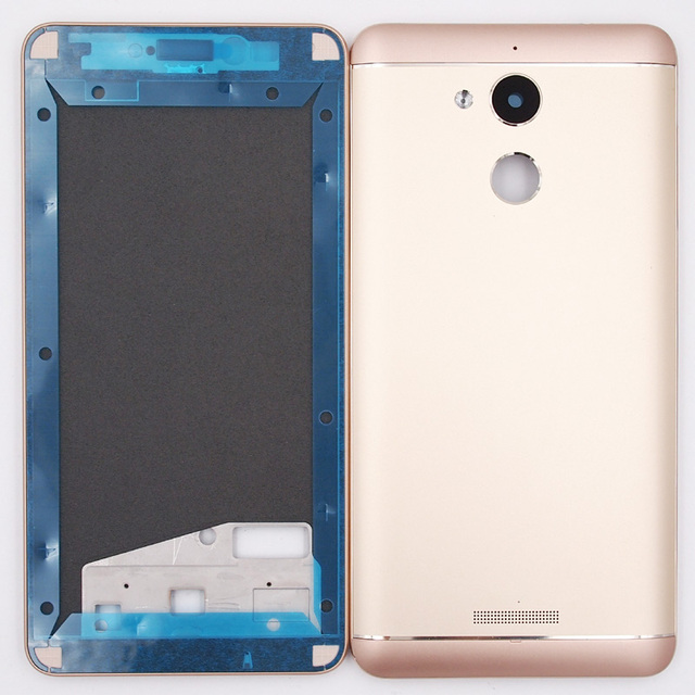 lowest price f1ab6 389c5 US $12.71 9% OFF BaanSam New LCD Front Frame Battery Door Back Cover  Housing Case For Coolpad Note 5 3600 With Power Volume Buttons-in Phone  Pouch ...