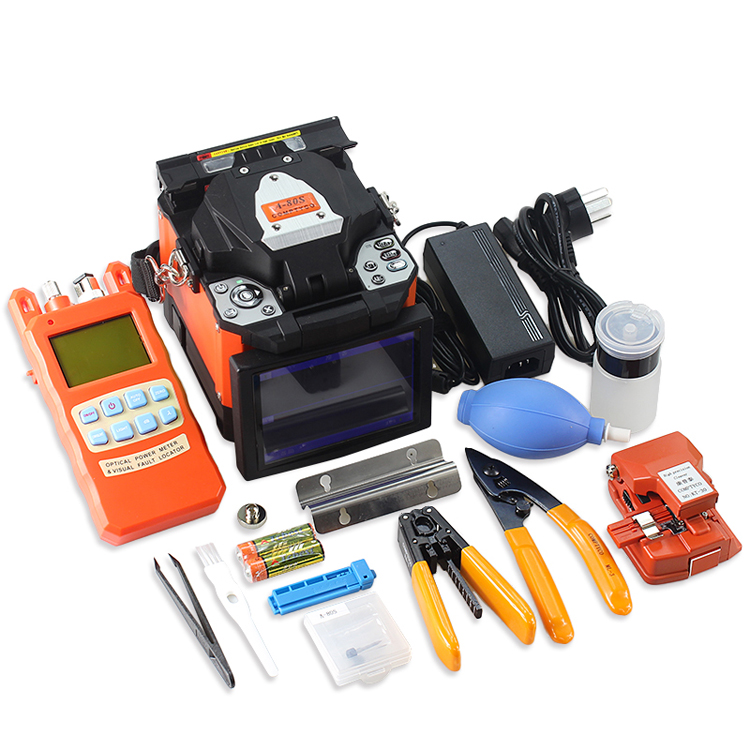 A 80S Splicing Machine Fusion Splicer with Fiber Cleaver and Stripper and Splicer Kit in Fiber Optic Equipments from Cellphones Telecommunications