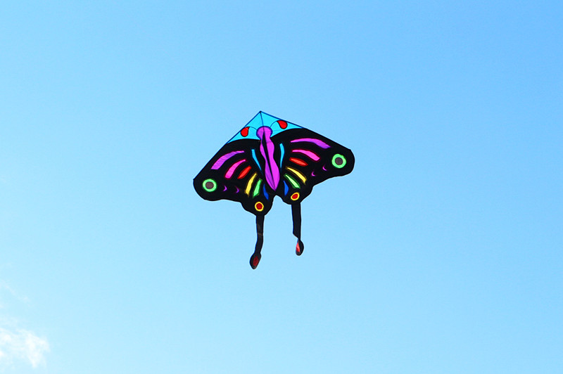 Высокое качество большой kite3M огромный Бабочка кайт с ручкой и линии ferramentas fly eagles велосипедный руль