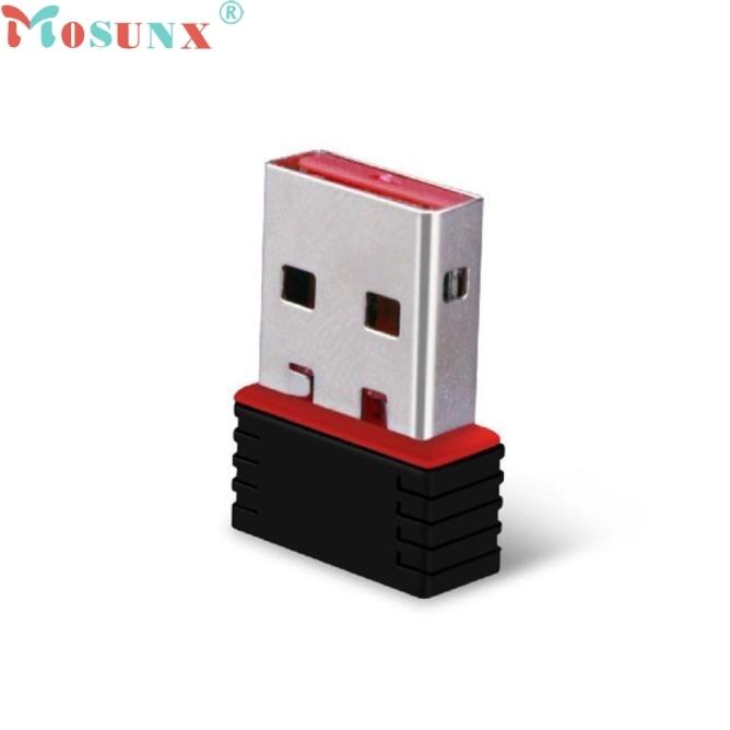 Mosunx USB WiFi беспроводной 150 Мбит/с USB адаптер Wi-Fi 802.11n 150 м сети LAN Card 0308