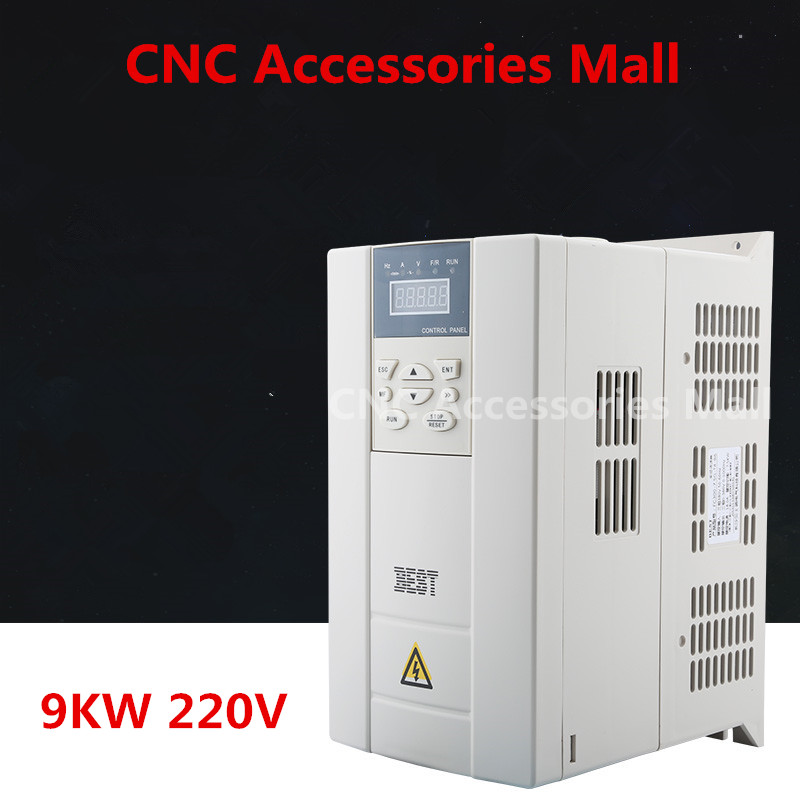 цена на 9kw 220V BEST Frequency Inverter VFD Variable Frequency Drive for spindle motor