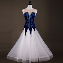 2018 ballroom dance competition dresses standard dance dresses Spandex ballroom dance dresses standard Customizable size color