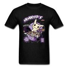 Mimikyu Pikachu Pokemon Tshirts 3D Plain Jigglypuff Gengar Japanese Anime ACDC Funny T Shirt Snorlax Mewtwo Cartoon Tees Boy
