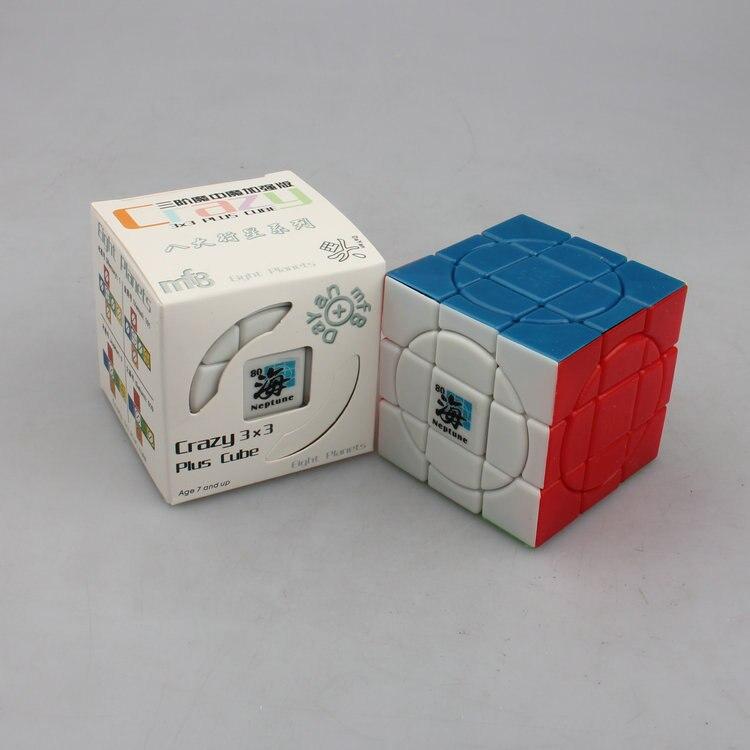 MF8 szalone 3x3 cube jowisz wenus rtęci czarny/bez naklejki kostka łamigłówka w osiem planet kolekcjonerska pomysł na prezent