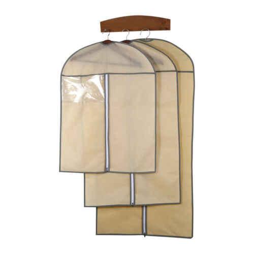 Beige/Schwarz Startseite Kleid Kleidung Garment Anzug Abdeckung Staubdicht-speicher-beutel-schutz-small Kleidung Staub Abdeckung Pouch Abdeckung Kleidung