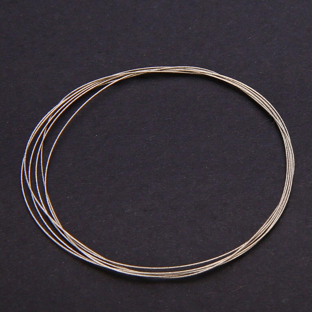 Mayitr 1m 0.26/0.38mm Saw Blades Metal Wire For Diamond Emery Jade Glass DIY Cutting Saw Blades Cutting Wire