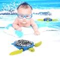Brinquedo Piscina de Natação Banho Do Bebê Animal bonito Tartaruga de Sarro o Tempo do Banho Para O Bebê Crianças Toy Presente FCI #