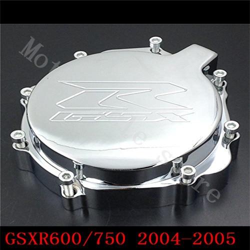 Для Suzuki GSXR600 GSXR750 2004-2005 К4 GSXR1000 2003 2004 К3 Двигатель мотоцикла статора крышка хром левого К4