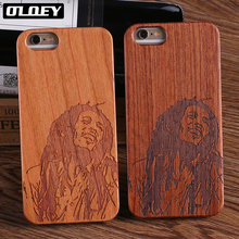 OLOEY For iPhone 5 5S 6 6S 7 7Plus 8 8Plus X XS Max Printed Wood Case SAMSUNG Galaxy S7 Edge S8 plus S9 Plus Fundas