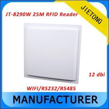 20 м UHF RFID пассивный длинный круг чтения с WI FI Связь Интерфейс + бесплатная SDK и теги RS232 wiegand26/ 34/32