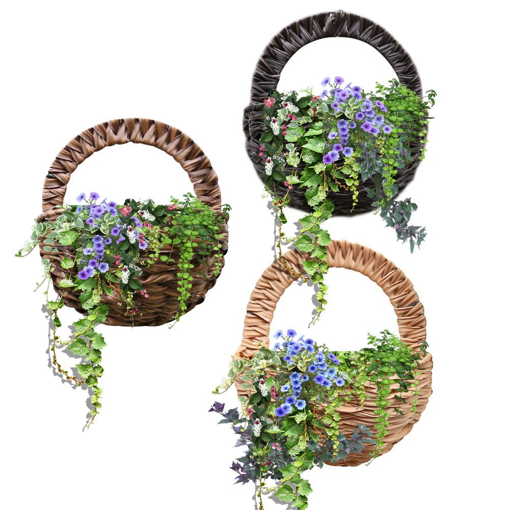Aliexpress.com : Buy Wall Hanging Flower Basket Flower Pot ... on Decorative Wall Sconces For Flowers Hanging Baskets Delivery id=96582