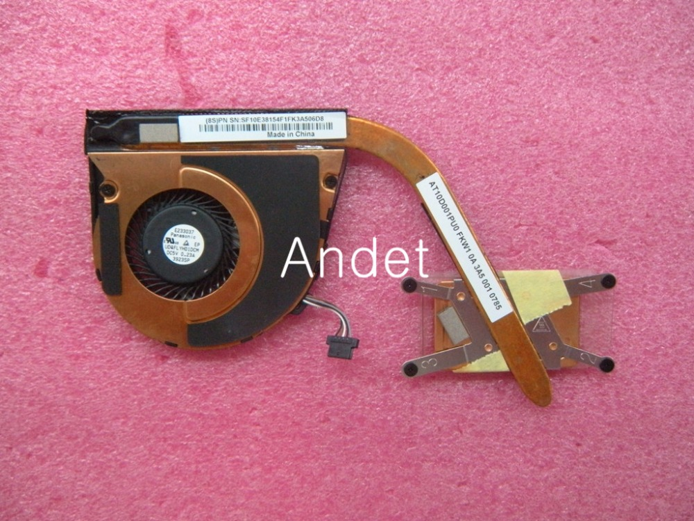 New Original Fan Heatsink for Lenovo Thinkpad S1 YOGA CPU Cooling Fan FRU 04X6440 genuine for lenovo thinkpad yoga 14 cpu cooling fan heatsink 00hn607