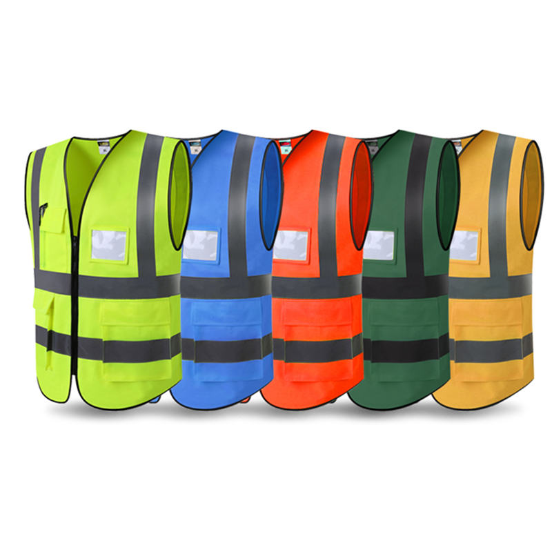 2018 High Quality High Visibility Reflective Vest Working Clothes Motorcycle Cycling Sports Outdoor Reflective Safety Clothing in Reflective Safety Clothing from Automobiles Motorcycles