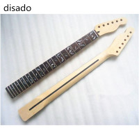 disado 22 Frets inlay Tree of Life maple Electric Guitar Neck no paint Guitar accessories Wholesale musical instruments Parts