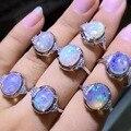 Идеальный цвет опал кольцо оптовая красивая серебряное кольцо 1 шт