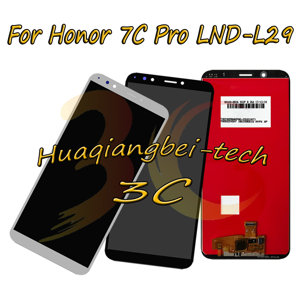 5.99 New For Huawei Honor 7C Pro LND-L29 Full LCD DIsplay + Touch Screen Digitizer Assembly White/Black/Gold/Blue 100% Tested5.99 New For Huawei Honor 7C Pro LND-L29 Full LCD DIsplay + Touch Screen Digitizer Assembly White/Black/Gold/Blue 100% Tested